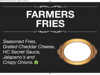 Farmer fries