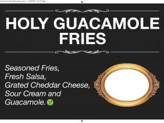 Guacamole fries